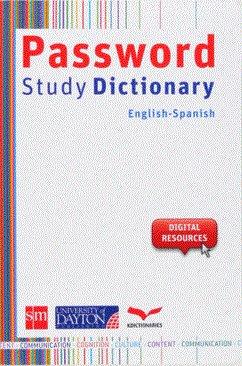 Password study dictionary english spanish