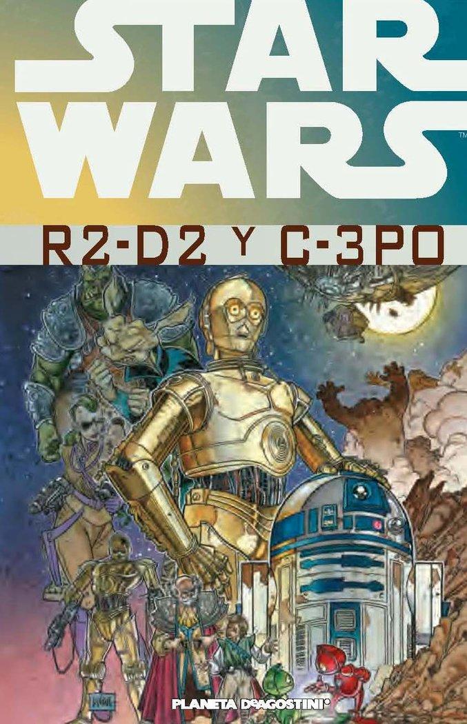 Star wars r2 d2 y c 3po