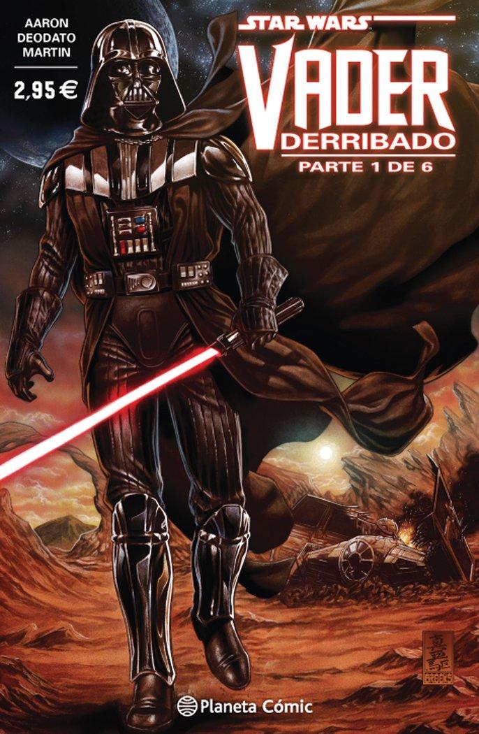 Star wars vader derribado 1