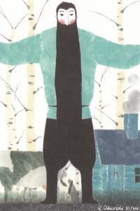 Ilustracion cuanta tierra necesita un hombre