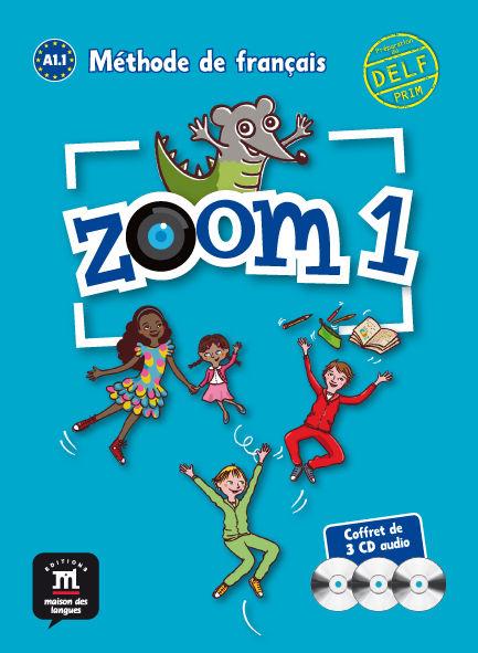 Zoom 1 pack de 3 cd audio