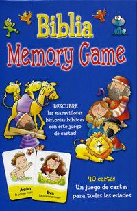Biblia memory game