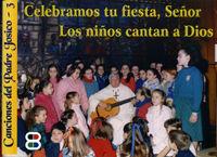 Celebramos tu fiesta folleto señor los niños cantan a dios