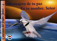 Mensajero de tu paz folleto en tu nombre señor