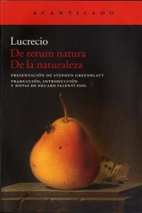 De rerum natura de la naturaleza