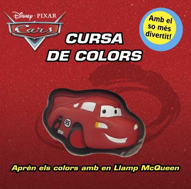Cars. cursa de colors