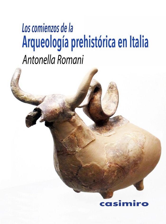 Comienzos de la arqueologia prehistorica en italia,los