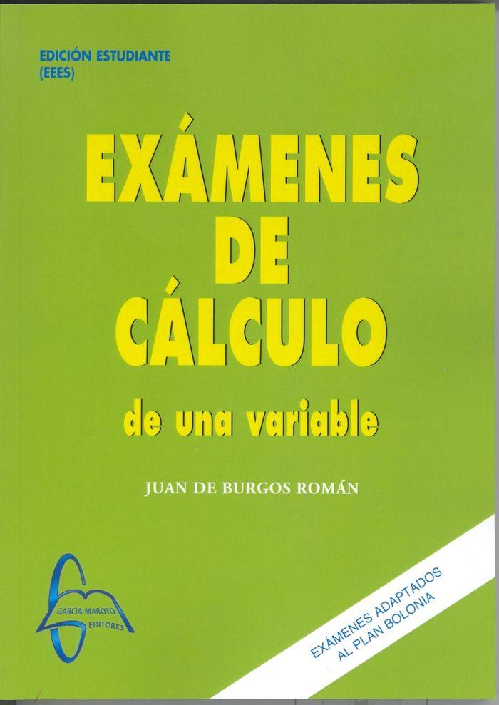 Examenes de calculo de una variable