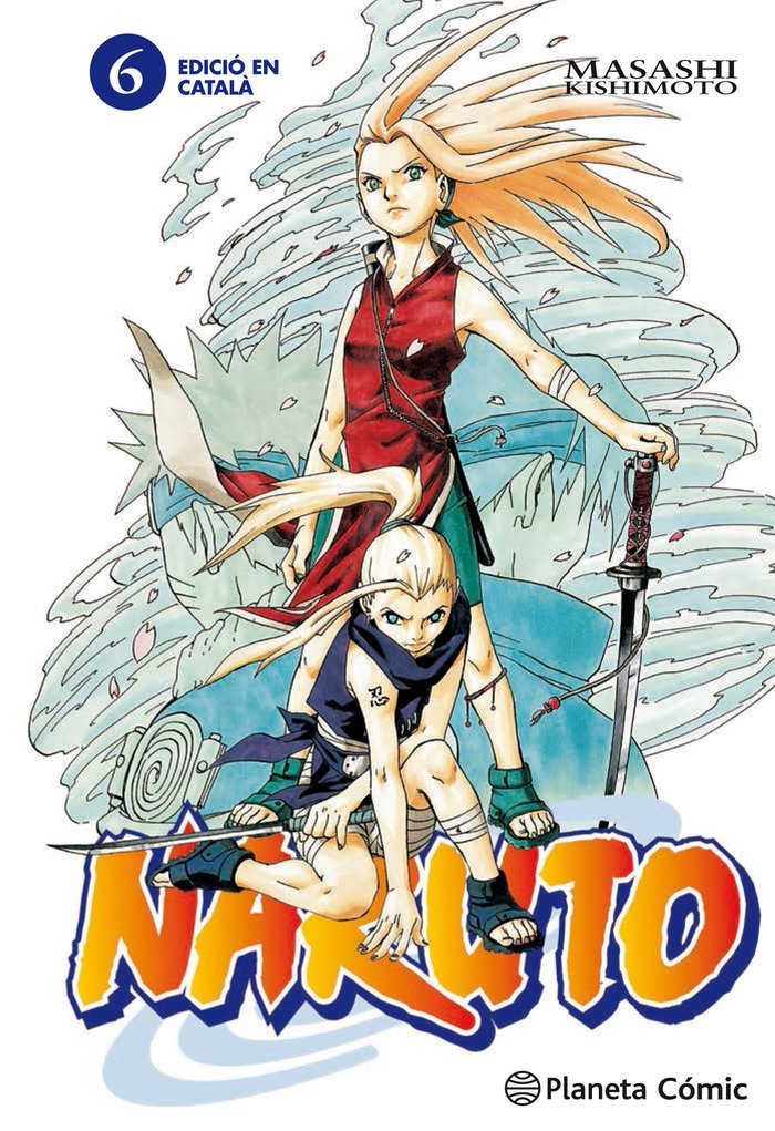 Naruto catala nº 06/72