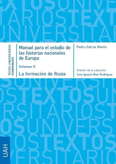 Manual para el estudio de las historias nacionales de europa
