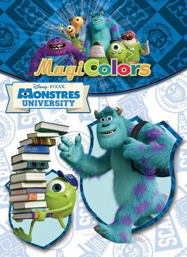 Magicolors. monstres university