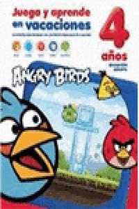 Juega y aprende en vacaciones 4años angry birds
