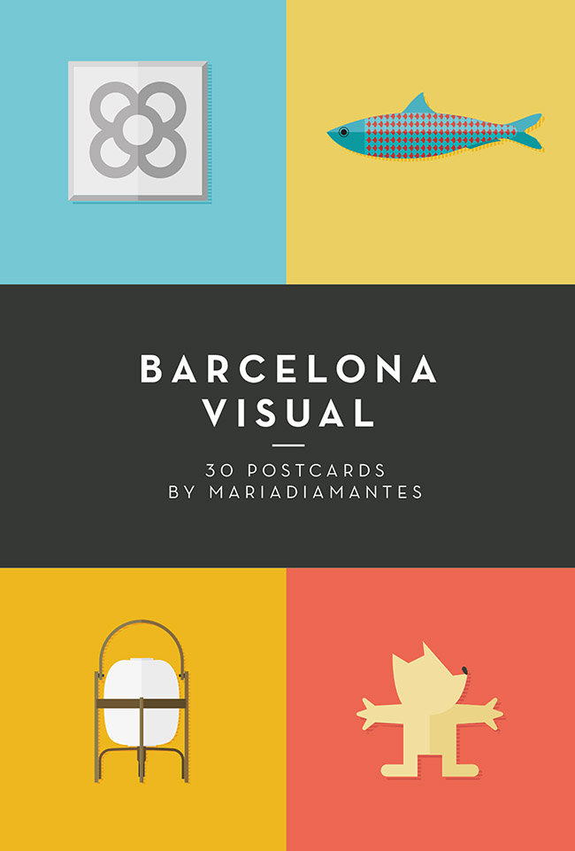 Barcelona visual postales