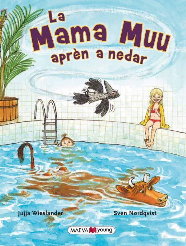 Mama muu apren a nedar,la
