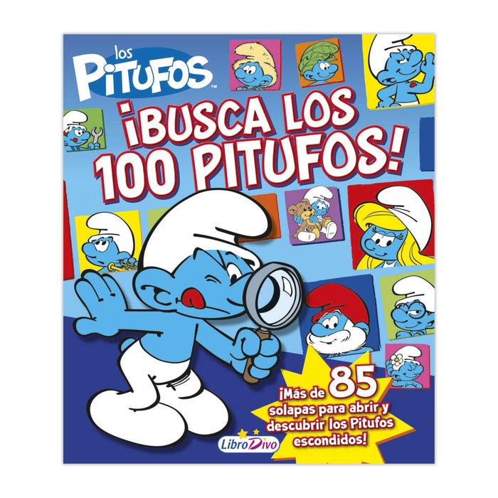 Busca los 100 pitufos