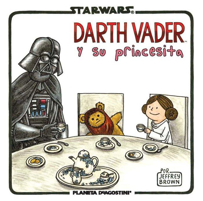 Star wars darth vader y su princesita