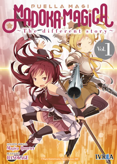 Madoka magica the different story 1