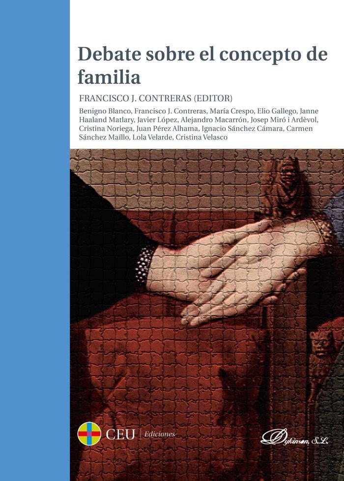 Debate sobre el concepto de familia