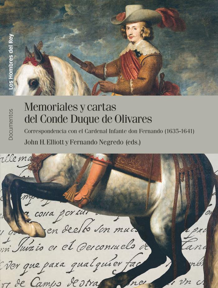 Memoriales y cartas del conde duque de olivares vol ii