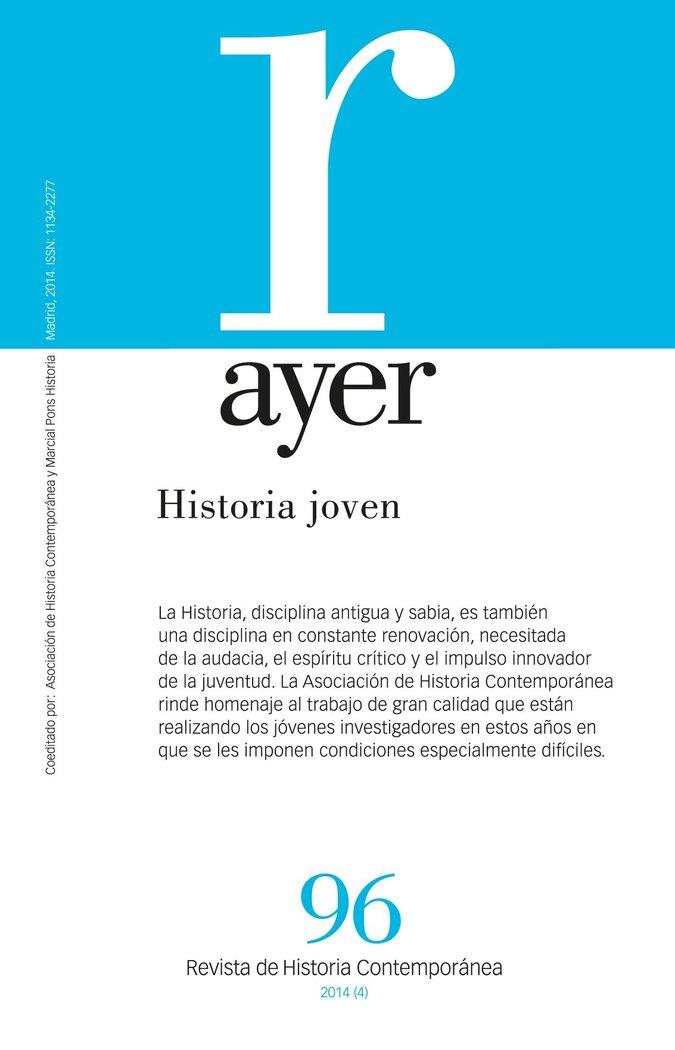 Revista ayer 96 historia joven