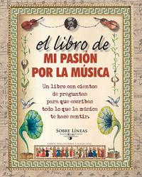 Libro de mi pasion por la musica,el