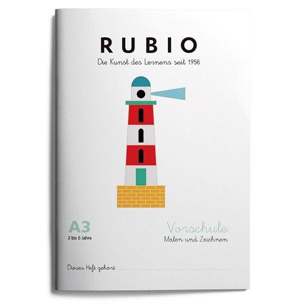 Rubio ei vorschule malen zeichnen a3 (3 a 4 años)