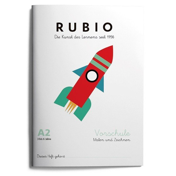 Rubio ei vorschule malen zeichnen a2 (3 a 4 años)