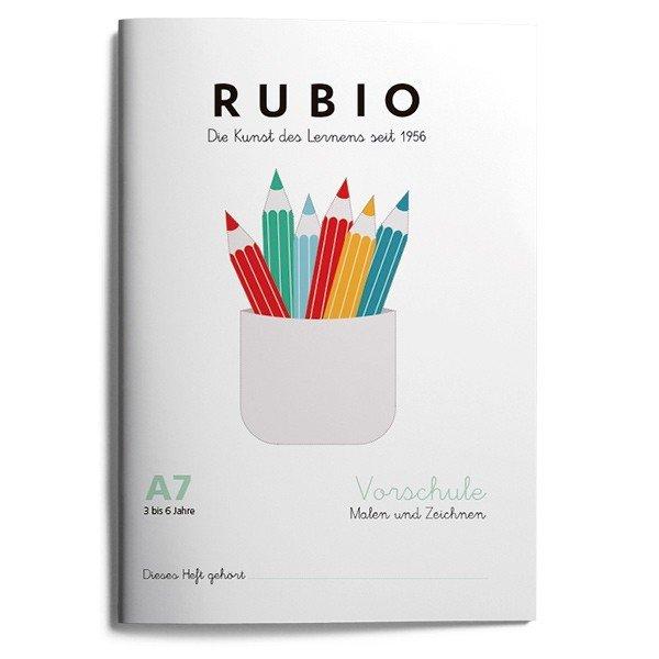 Rubio ei vorschule malen zeichnen a7 (5 a 6 años)