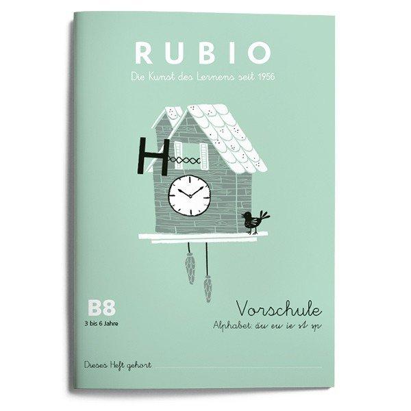 Rubio ei vorschule malen zeichnen b8 (5 a 6 años)