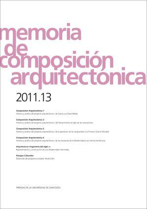 Memoria de composicion arquitectonica 2011.13