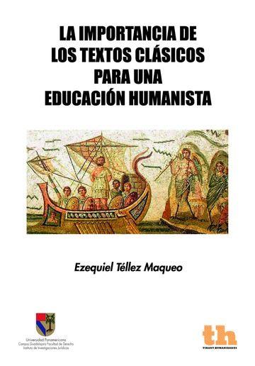 Importancia de los textos clasicos para una educacion humani