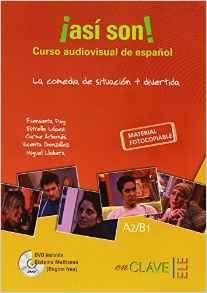 Asi son curso audiovisual dvd a2 b1