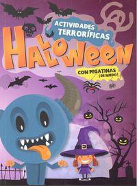 Actividades halloween con pegatinas