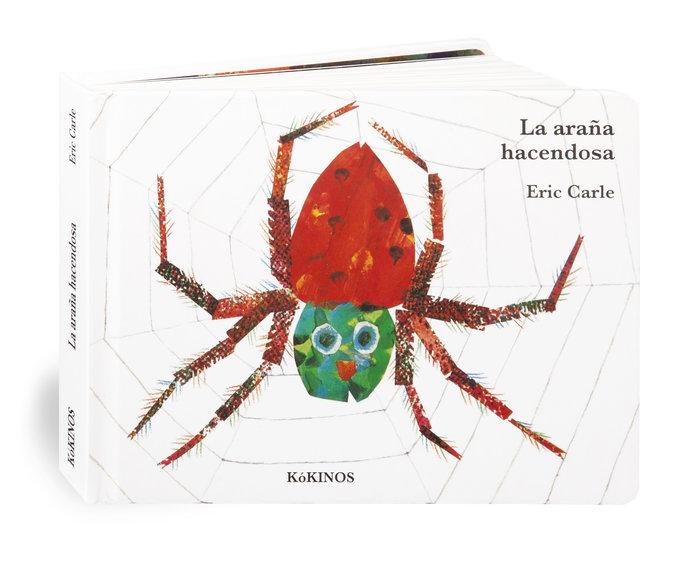 Araña hacendosa cartone mediana,la