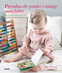 Prendas de punto vintage para bebes