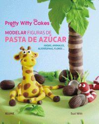 Modelar figuras de pasta de azucar