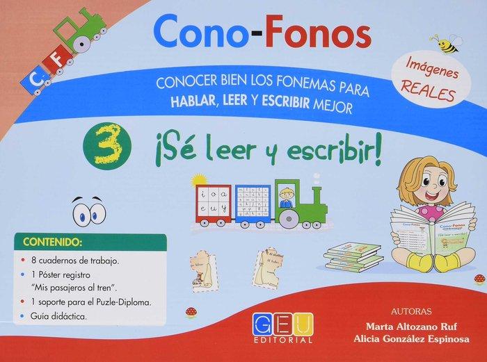 Cono-fonos 3 se leer y escribir