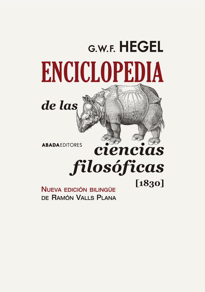 Enciclopedia de las ciencias filosoficas 1830