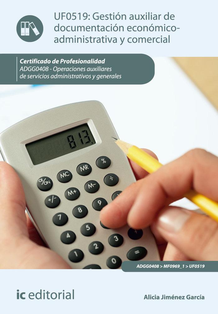 Gestion auxiliar de documentacion economico-administrativa