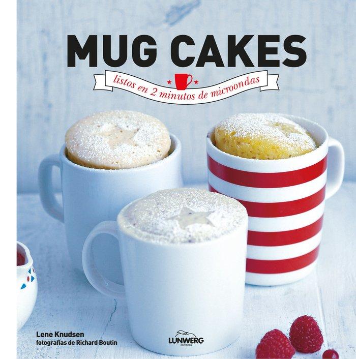 Mug cakes listos en 2 minutos de microondas