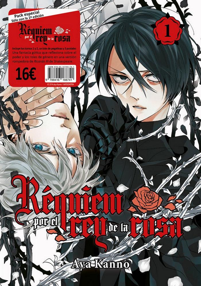 Requiem por el rey de la rosa pack vol 1 y 2