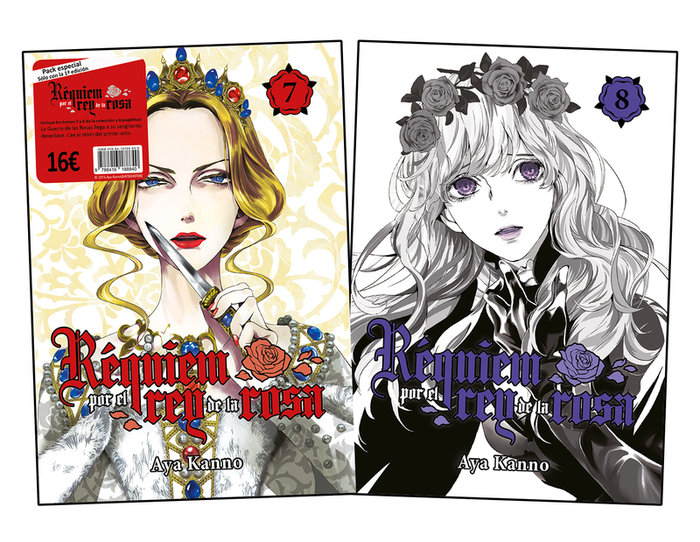 Requiem por el rey de la rosa pack vol 7 y 8