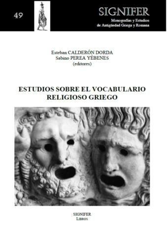 Estudios sobre el vocabulario religioso griego