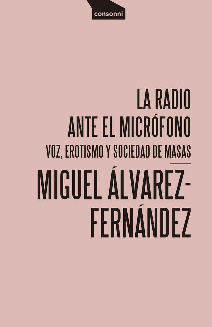 Radio ante el microfono,la