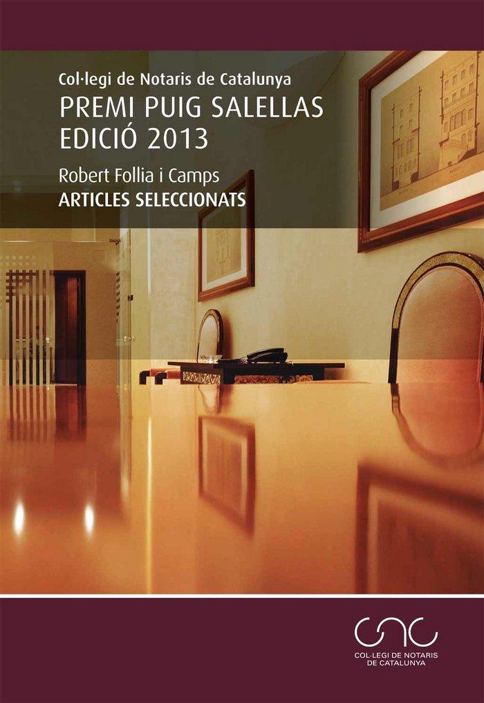 Premi puig salellas edicio 2013