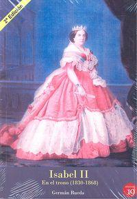 Isabel ii en el trono 1830-1868