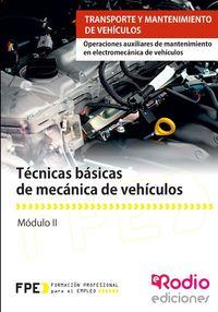 Tecnicas basicas de mecanica de vehiculos mf0623 1