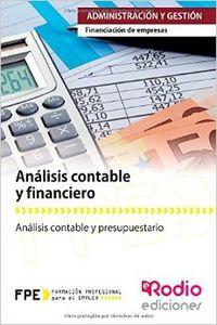 Analisis contable y financiero