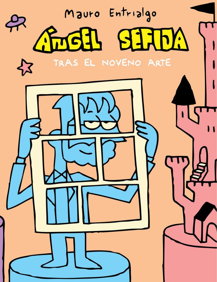 Angel sefija tras el noveno arte serigrafia numerada firmad