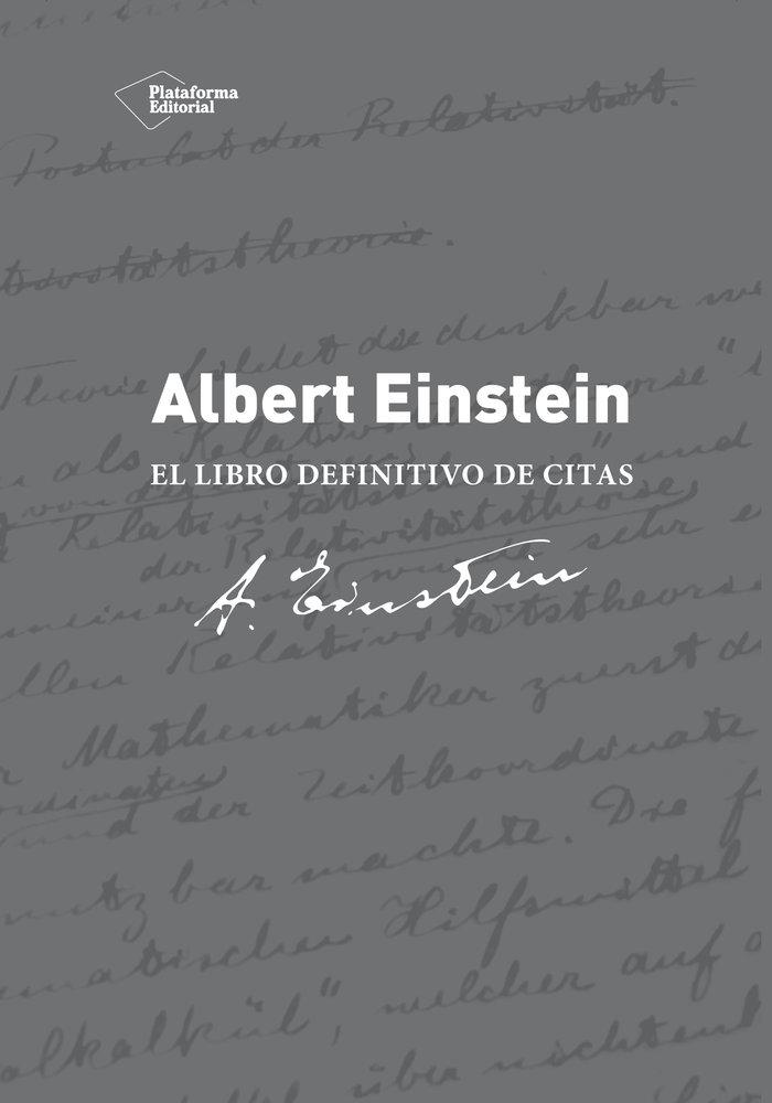 Albert einstein el libro de citas definitivo